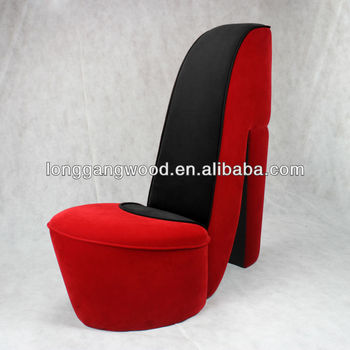 Attractive High Heel Shoe Chair,kids Chairs,kids Sofa