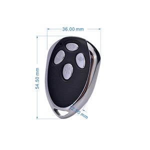 433/315mhz 1527 Metal wireless smart remote control YET001