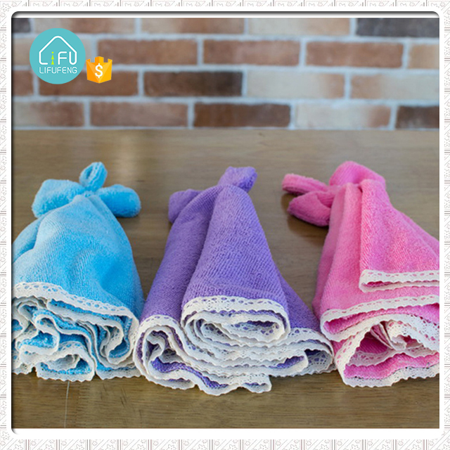 small custom different color terry cloth kitchen hand towels