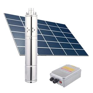 JINTAI 3 years warranty 4 inches screw solar water pump system for deep well