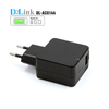 Wholesale Universal 5V 2.1A home mobile phone accessories USB Chargers,Qualcomm IC quick charge 2.0 usb travel charger