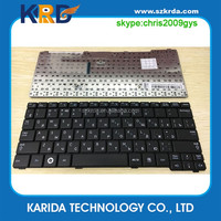 Wholesale laptop RU russian keyboard for Samsung N151 N150 N148 N145 N143 N128 N100 N102 NB20 NB30