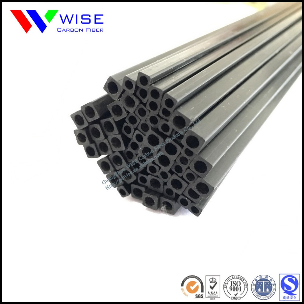 Various Size Of Pultruded Carbon Fiber Tubes With Cnc