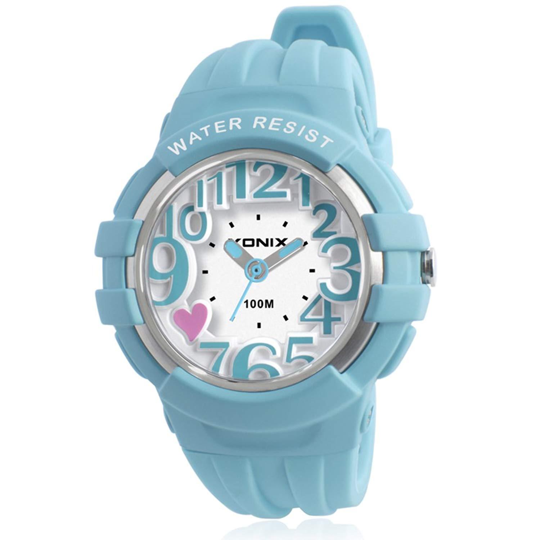 Children watch student simple leisure pointer type movement waterproof quartz watches-A