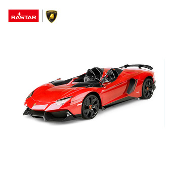 LAMBORGHINI Aventador J 1:12 RC battery operated car toy for children