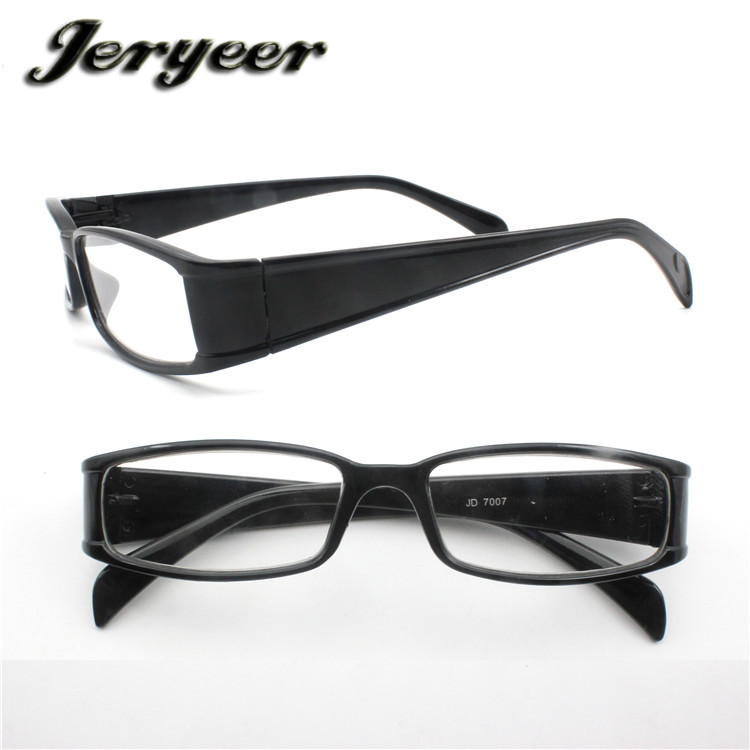 Rimless Reading Glasses 1.0 0.75 2.0 Optimum Optic Reading Glasses Black Plastic Frame Glasses Reading