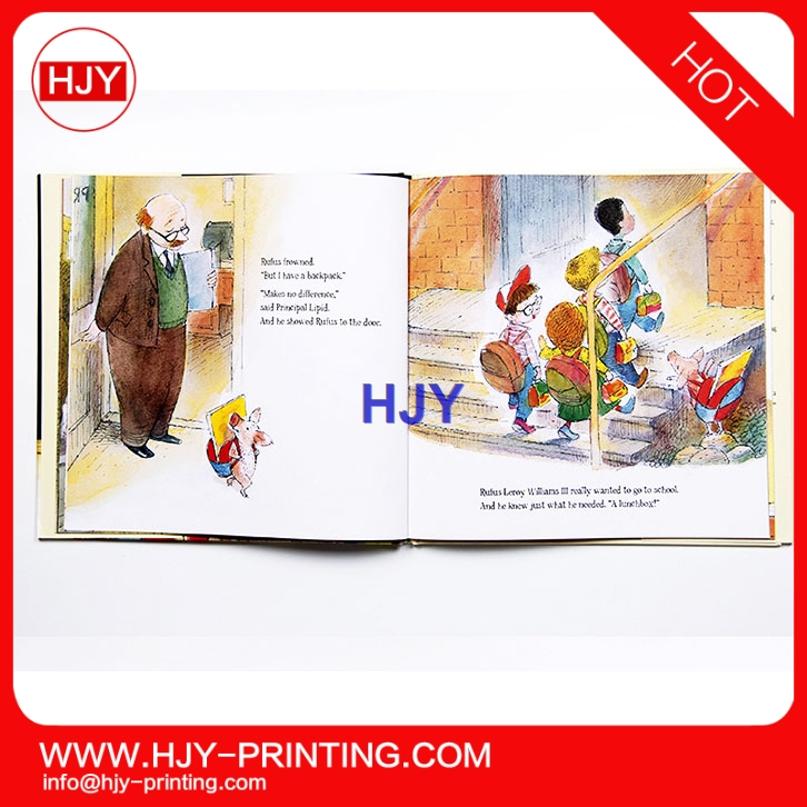 Children's story book printing color cartoon picture children, Funny games sticker book