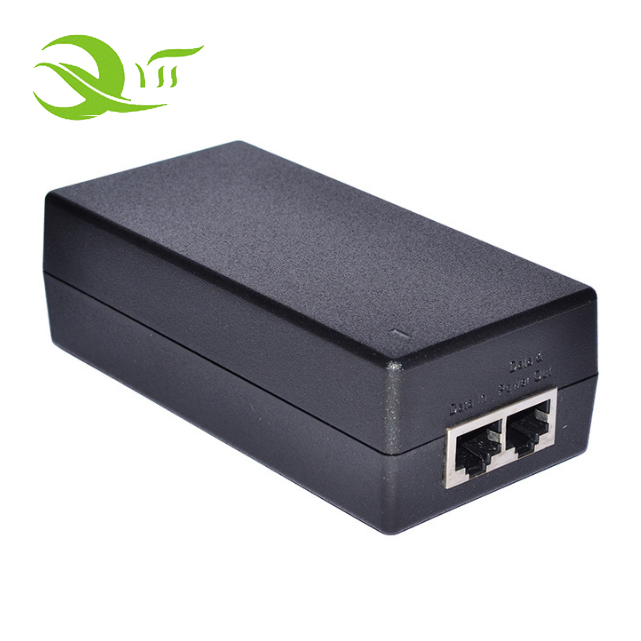 12V 1A Passive POE Power Supply Injector Ethernet Adapter with Wall Plug