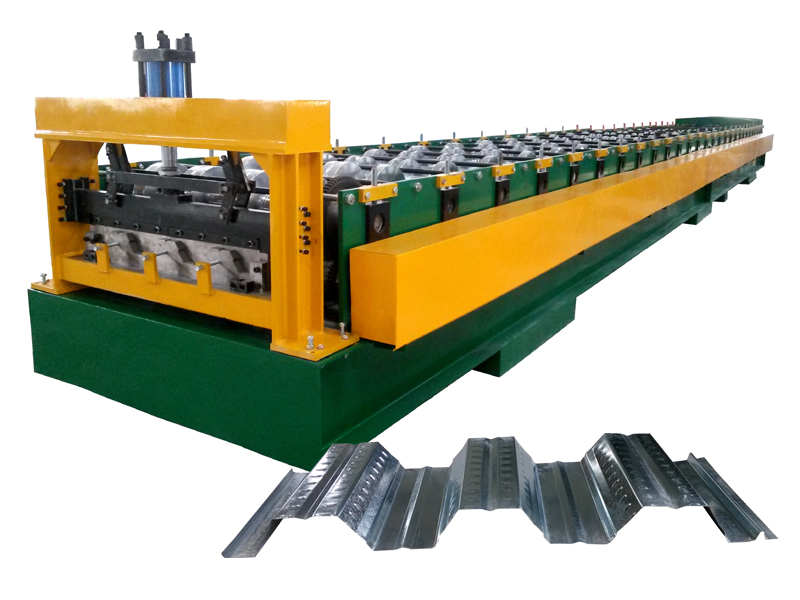 Floor decking panel cold roll forming machine,floor deck roll forming machine