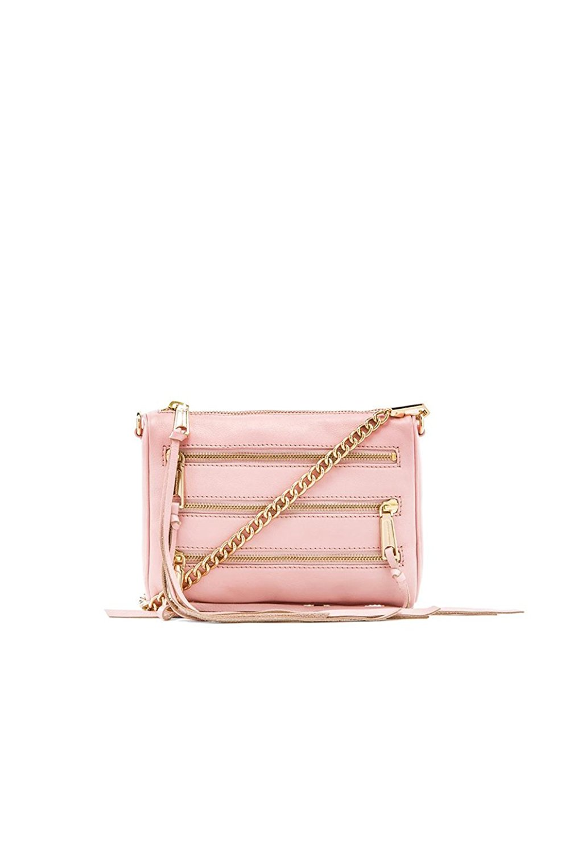 Rebecca Minkoff Mini 5 Zip Cross-body Bag, Quartz
