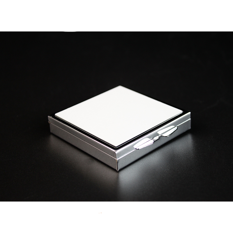 Großhandel Metall Blank Sublimation Square Pill Box