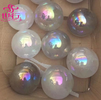 Wholesale electric natural quartz crystal balls for home decor