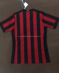 Shipping to Italy soccer jerseys 2017/2018 home football shirts AC
