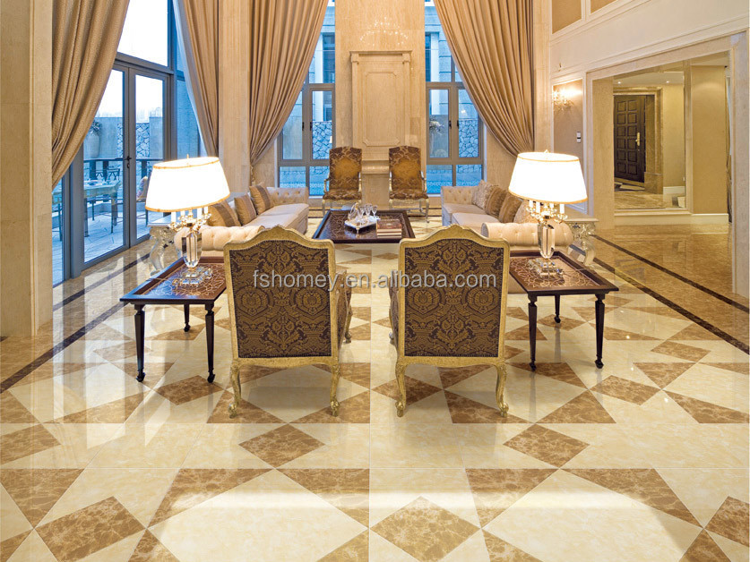 Homey vitrified tiles price in india full polished glazed Tiles for hall in india