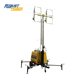 Metal Halide Lamp 4000 Watt Vehicle-Mounted Stadium Light Tower with Trail