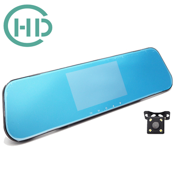 FHD 1080P Mirror Car DVR Dash Cam Camera Video Recorder