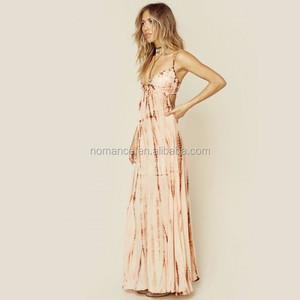 Plus Size Bohemian Maxi Dress For Tall Women