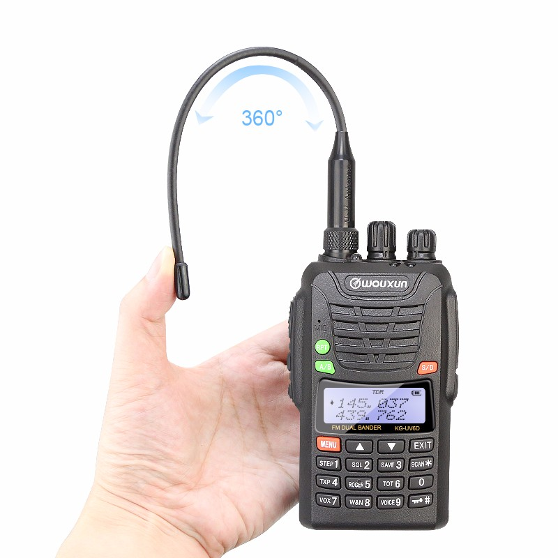 Military walkie talkie Wouxun KG-UV6D dual band walkie talkie 10km range 2 way radio