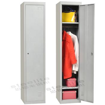 93d89d229523 New design KD 1 door student locker dressing metal steel locker for school