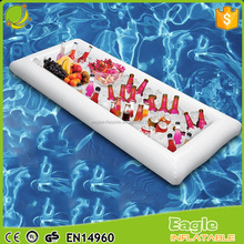 Inflatable Salad Buffet Cooler Party Table Ice Bucket Picnic Food & Drinks Chiller inflatable floating pool Serving Bar