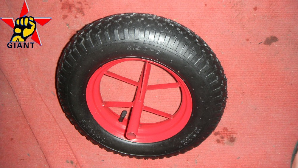 Good rim pneumatic wheel for wheelbarrow