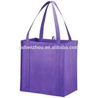 New arrival best prices custom logo printed easy carry promotional laminated non woven grocery shopping bag
