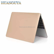 2017 color metal laptop shell hard metal case for Macbook 12 inch