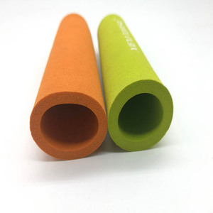OEM custom silicone rubber foam bicycle grips printed nbr rubber grip for Bicycle