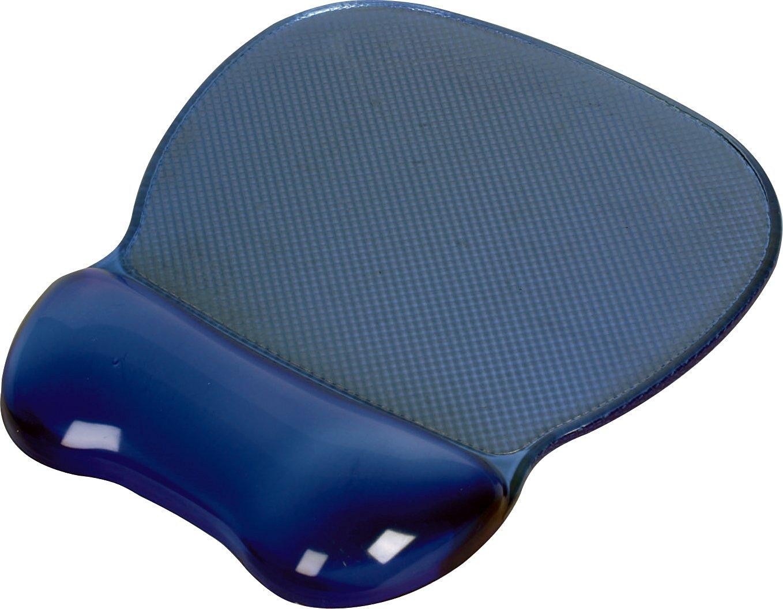 Crystal Gel Mouse Pad Wrist Rest Color: Blue