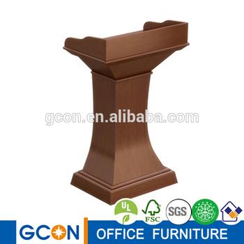 Antique Reproduction Furniture Writing Desks Platform Dais Protable Folding  Stage Rostrum
