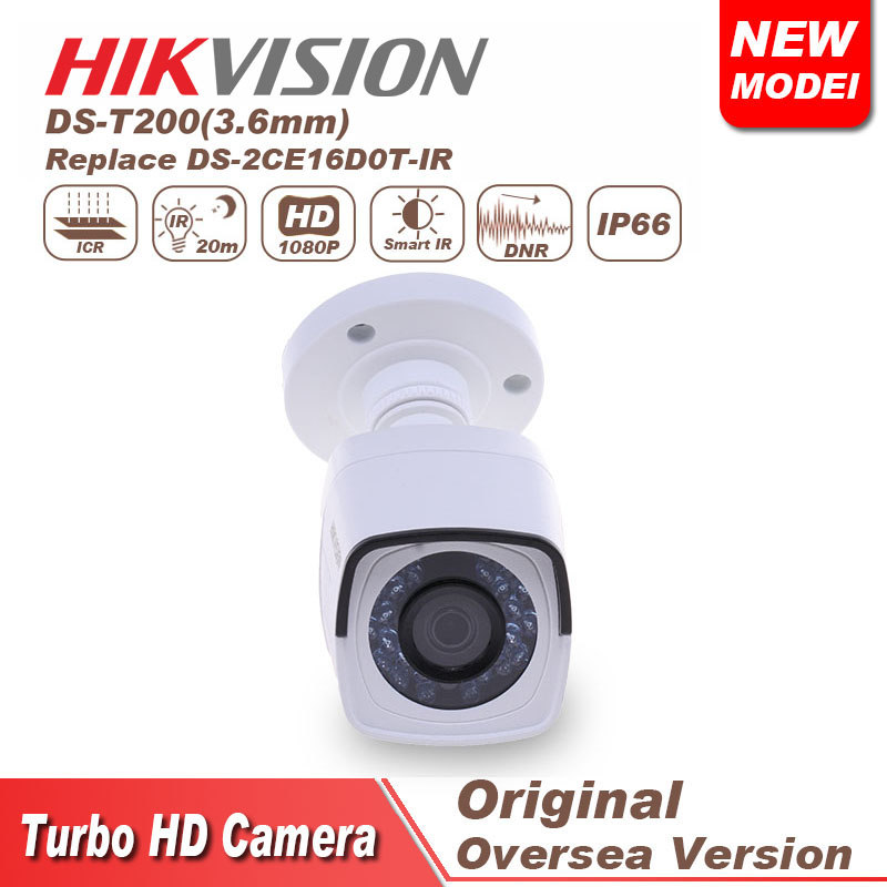 hikvision HD 1080P IR Bullet cctv camera DS-T200 security camera night