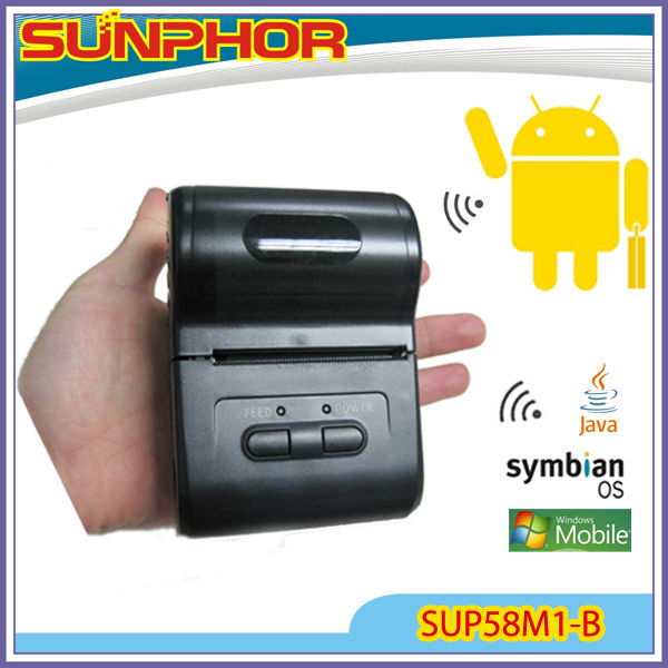 SUP58M1-B 2inch Blurtooth thermal printer(factory price)