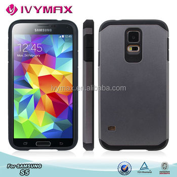 For samsung galaxy s5 combo case,phone case,hybrid case