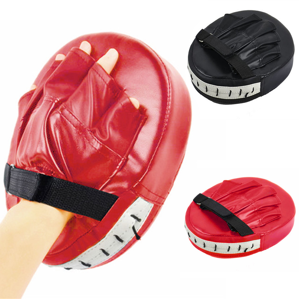 1Pc Focus Boxing Punch Mitts Training Pad for MMA Karate Muay Thai Kick Train UK