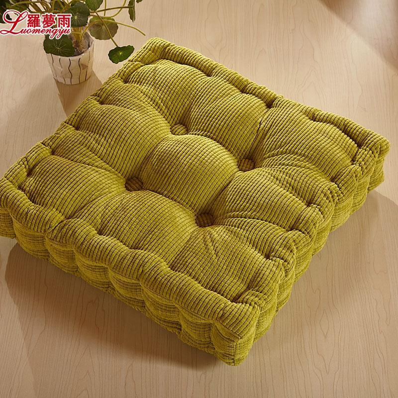 Home textile velvet tatami mat plus size thickening cushion dining chair cushion chair cushion