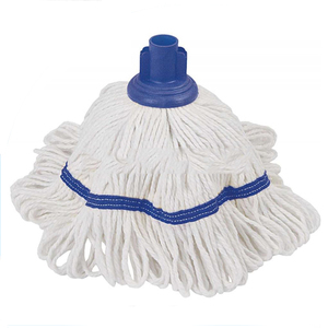 PURE WHITE floor cleaning handle cotton mop head machinery