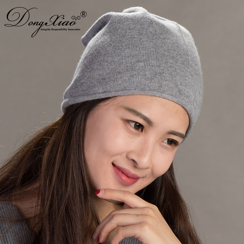 Warm Cashmere Knitted Hat Lady Men Wholesale Manufacturers