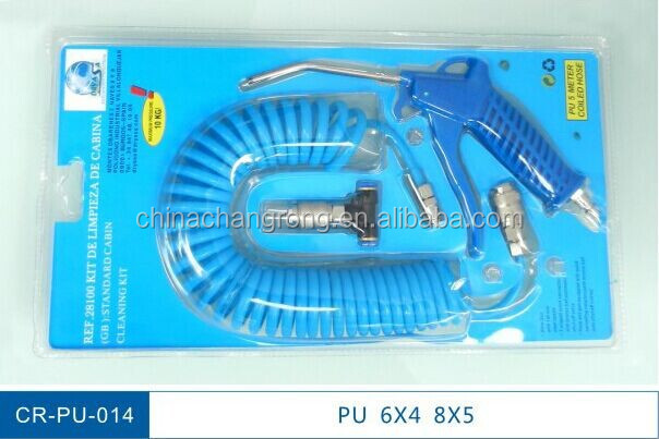 China Supplier Plastic Pneumatic Flexible Spiral Pipe Coiled Pu ...