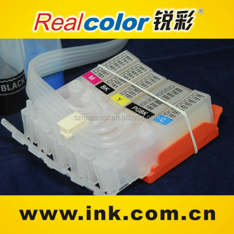 Ciss Cartridge For Canon 450/451,Ink Cartridge For Ip7240