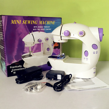 Mini Handheld Sewing Machines Dual Speed Double Thread Multifunction Gorgeous Mini Sewing Machine