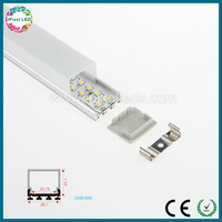 Ultra thin led track aluminum with high Cover,large area lighting led aluminum profile