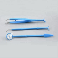 Disposable Dental Tooth Surgical Plastic & Stainless Steel Extraction Forceps