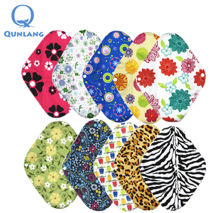 Washable Reusable Bamboo Menstrual Pads Sanitary Napkin Wholesale