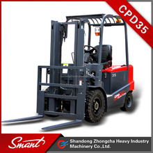 CPD35 lifting equipment forklift model with solid tyre for sale