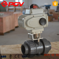 4 inch pvc electric actuator ball valve