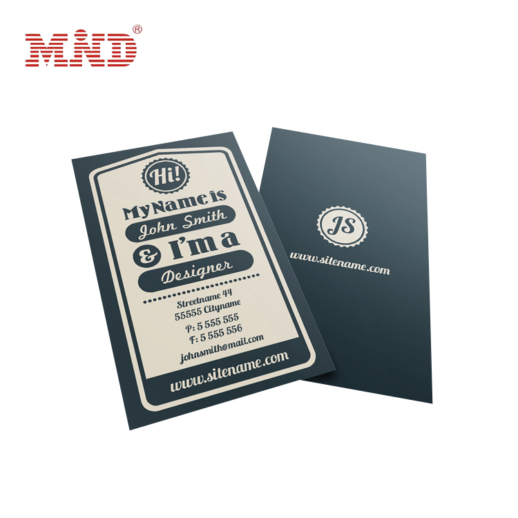 Glossy Custom Color Hot Foil Business Cards For Sales