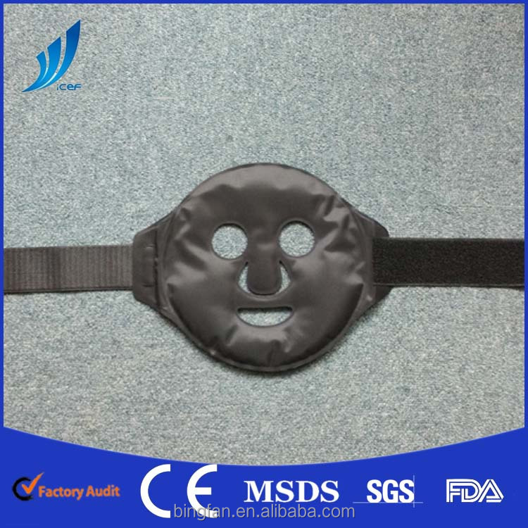 new products SELF COOLING black mud face lift facial mask pain relief
