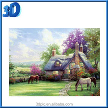 Manufacturer Supply 3D Diy Diamond Acrylic Landscape Pictures free sample