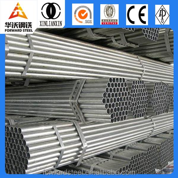 Tuber a de hierro galvanizado precio de carbono tubos de for Perfiles de hierro galvanizado precio
