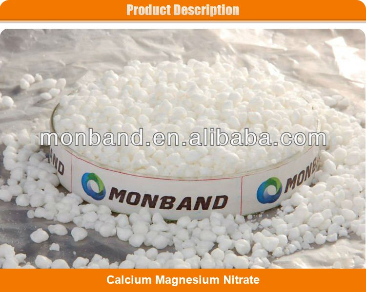 Export Calcium Magnesium Nitrate Granular Fertilizer
